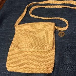 The Sak Off White Crochet Small Crossbody